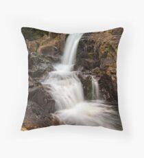 Kaiate upper falls Throw Pillow