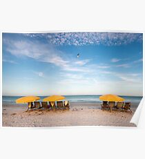 Dawn at Siesta Key Beach, Florida Poster