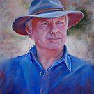 Portrait of Bruce by Lynda Robinson