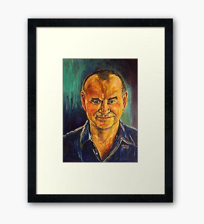 Mr M. Framed Print