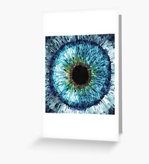Inseyed Greeting Card