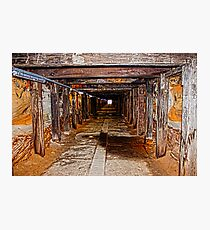 Light at the end of the tunnel ! Photographic Print