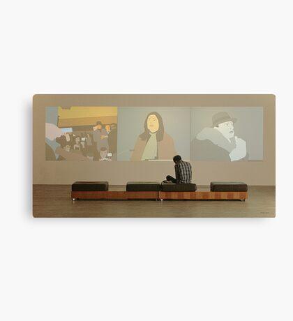 Exhibition Canvas Print