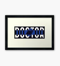 Doctor Framed Print