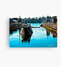 Dock 9 Canvas Print