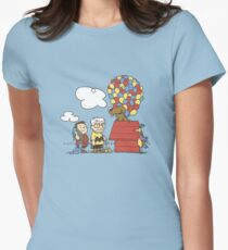 some Peanuts UP there V.2 Women's Fitted T-Shirt