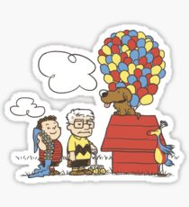 some Peanuts UP there V.2 Sticker
