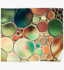 PASTEL ABSTRACTION Poster