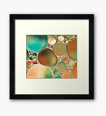 PASTEL ABSTRACTION #2 Framed Print