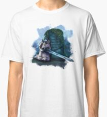 Great Grey Doge Sif Classic T-Shirt