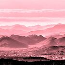 Rouge Hills Of The Tonto by Mike Herdering
