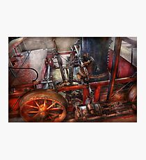 Steampunk - My transportation device Photographic Print