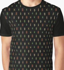Four Beetles Graphic T-Shirt