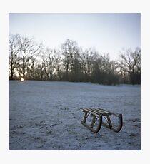 sleigh Photographic Print