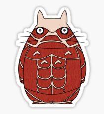 Attack on Totoro Sticker
