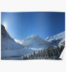 Plain of 6 Glaciers, Lake Louise Poster