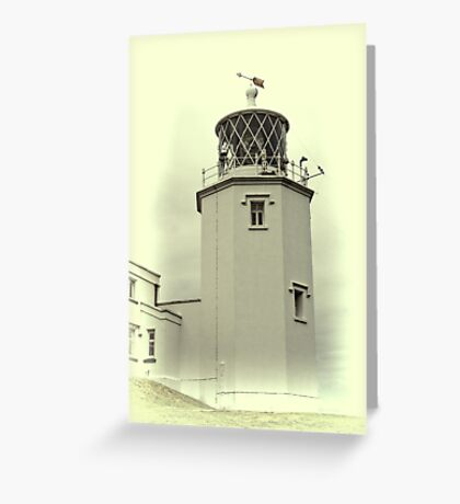 Lighthouse on the Lizard Greeting Card