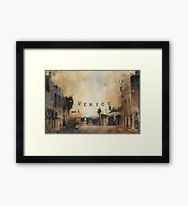 Venice, The most expensive slums on earth. Framed Print
