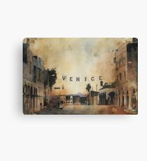Venice, The most expensive slums on earth. Canvas Print