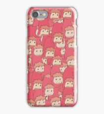 Ponyo sisters iPhone Case/Skin