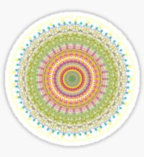 Bright Blessings Mandala  Sticker