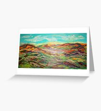 HARMONY OF COLORS  Greeting Card