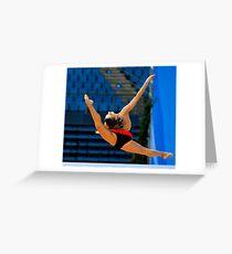 Rhythmic Gymnastics World Cup 2012  Greeting Card