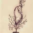 Deer in Tree by samclaire