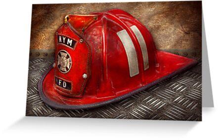 Fireman - A childhood dream by Michael Savad