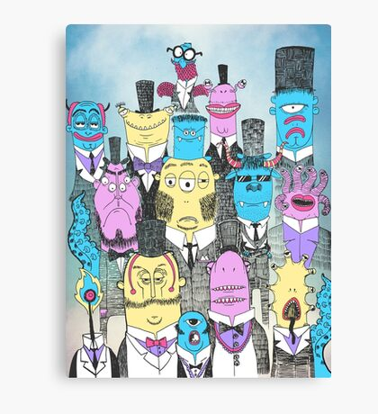 A Few Good Monsters Canvas Print
