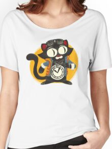 Time-Cat Women's Relaxed Fit T-Shirt