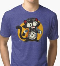Time-Cat Tri-blend T-Shirt