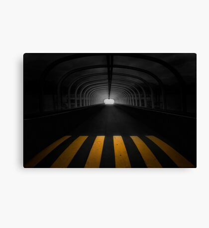 Lost In The Shadows, I Walk Alone Canvas Print
