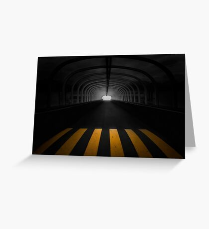 Lost In The Shadows, I Walk Alone Greeting Card