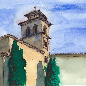 Church in Granada by ekabillo