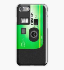 Disposable Camera - FunFilm iPhone Case/Skin