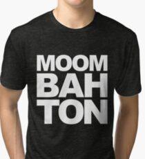 Moombahton Block Tri-blend T-Shirt
