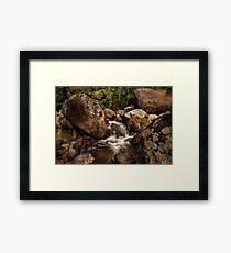Kaiate Boulders Framed Print