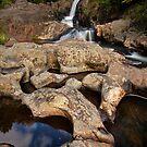 Kaiate sculptured rocks by Ken Wright