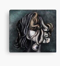 Cubistic me Canvas Print