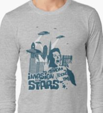 Invasion from beyond the stars Long Sleeve T-Shirt
