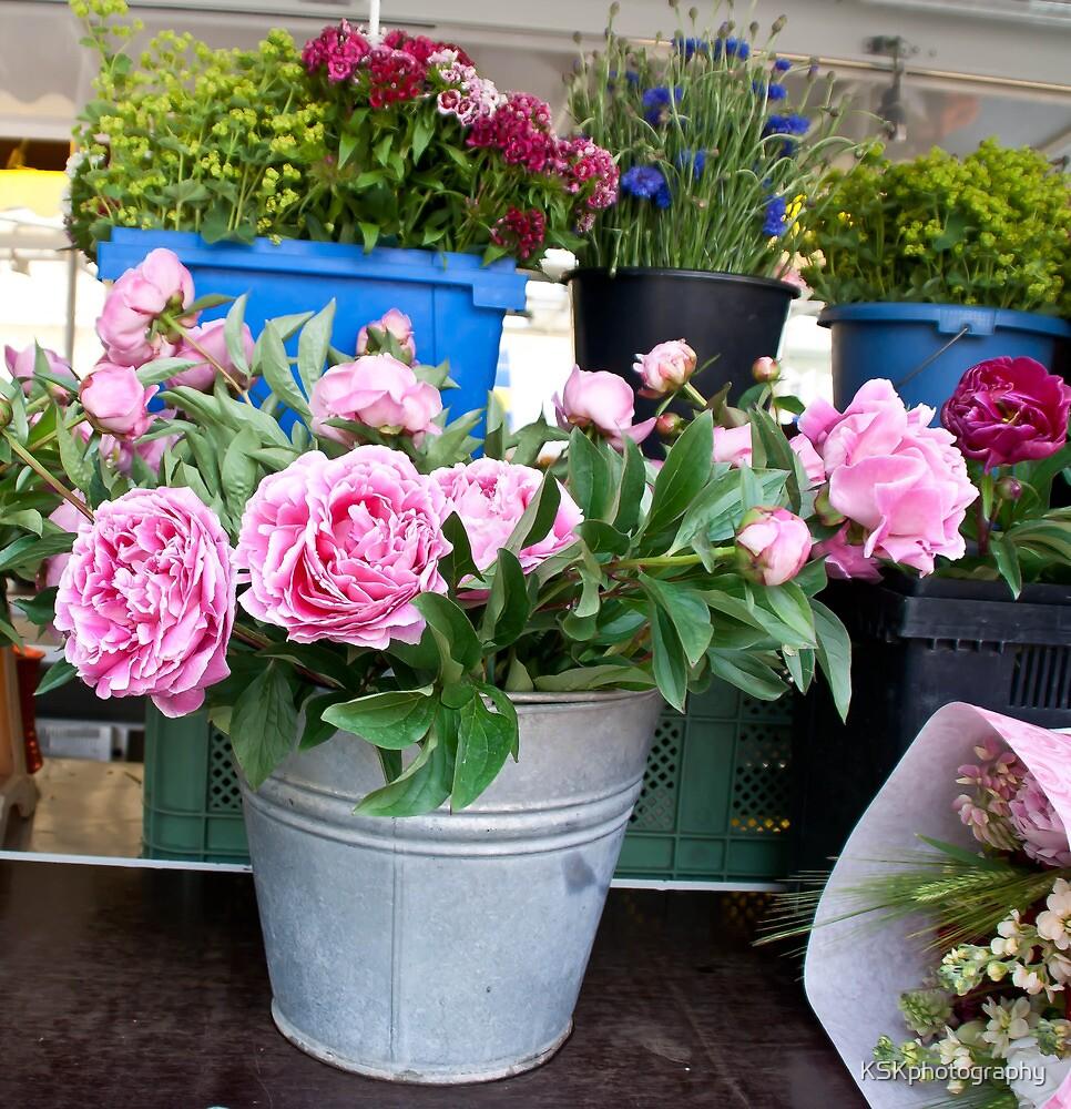 Germany Flower market  by KSKphotography