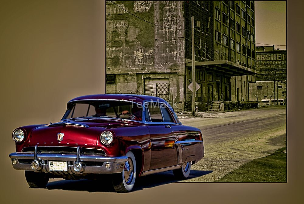 """This isn't Route 66, Grandma"" 1952 Mercury by TeeMack"