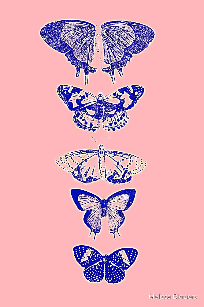 Butterflies Pink by Melissa Blowers
