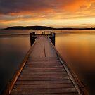 Walk the Plank - Kalbarri Jetty by John Pitman