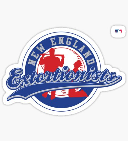 The New England Extortionists Sticker