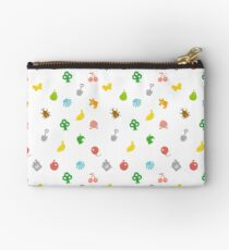 Animal Crossing Amiibo Card - Pattern Zipper Pouch