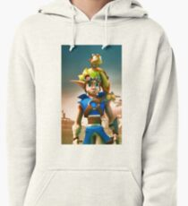 Jak and Daxter cover Pullover Hoodie