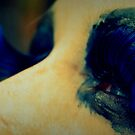 blue lashes by Jamie McCall