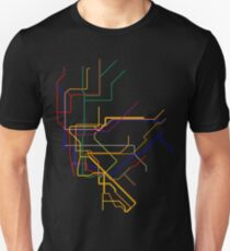 NYC Subway Lines Unisex T-Shirt